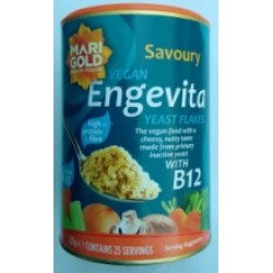 Nutritional Yeast Flakes with B12 in Paper Jar