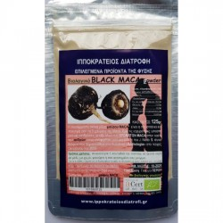 MACA POWDER ORGANIC BLACK 125g