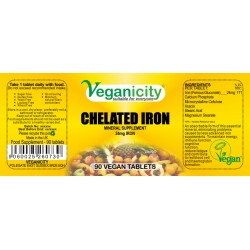 CHELATED IRON 90 Vtabs των 24mg