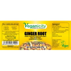 GINGER ROOT 550mg 60 Vtabs