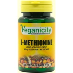 AMINO L-METHIONINE 60 VTabs/500mg